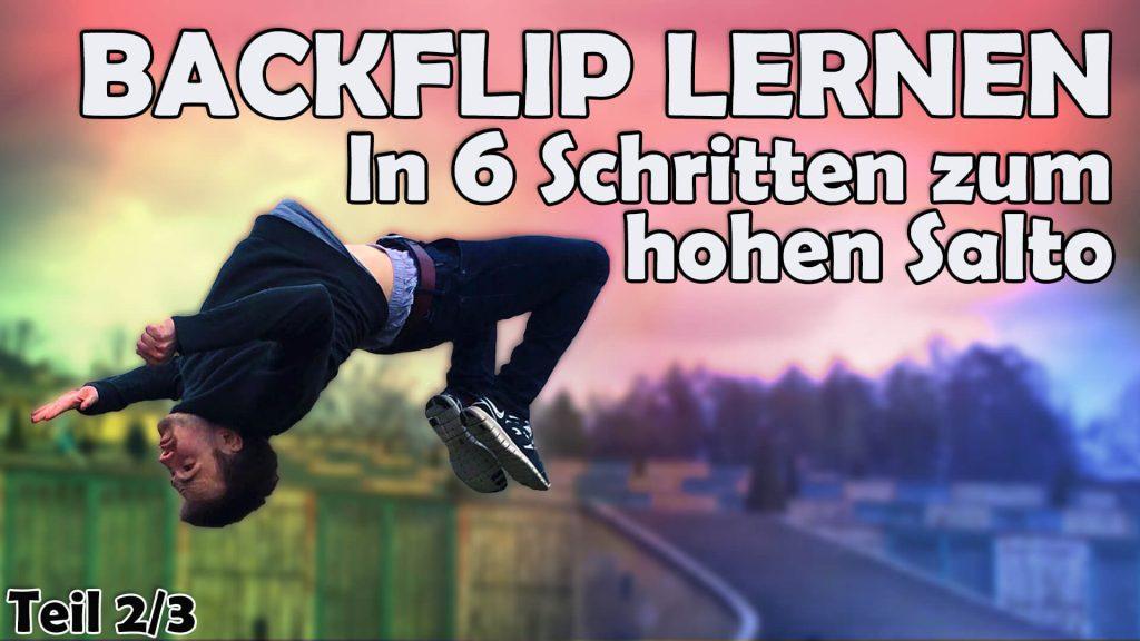 backflip rückwärtssalto tutorial